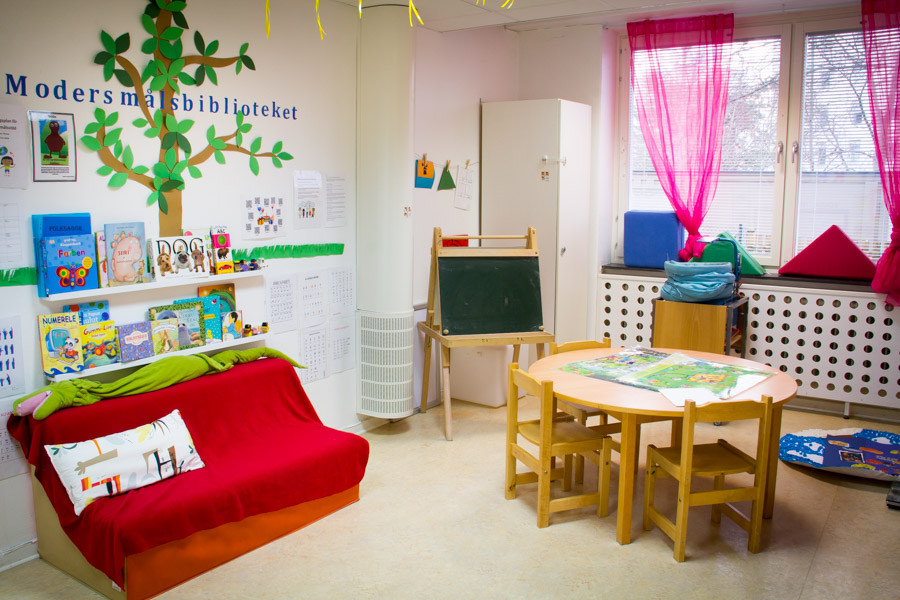 Förskolan Pelikanen – miljö